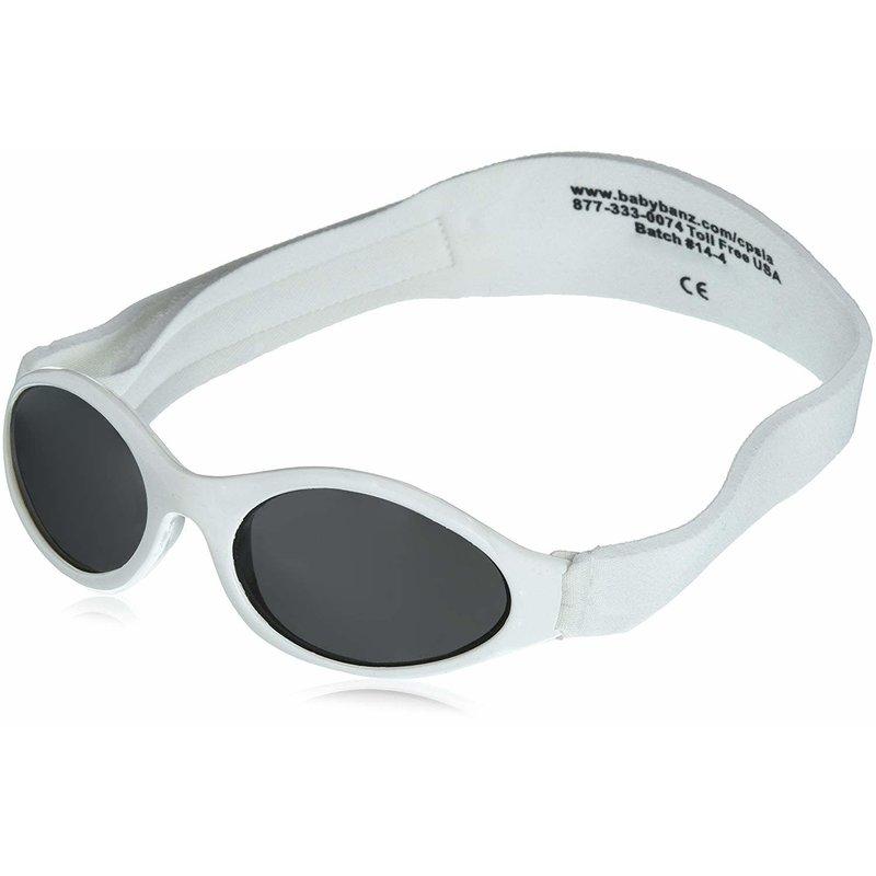 Kids Adventure Banz Sun Glasses 2-5 yrs White