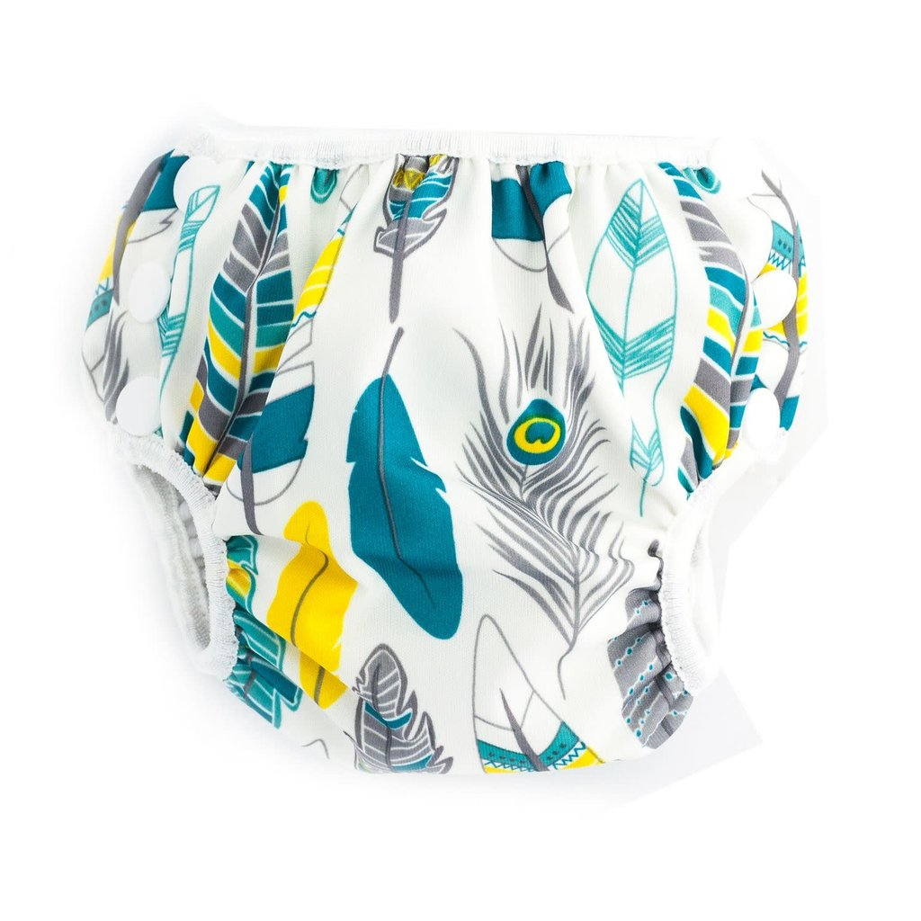 Bumkins Swim Diapers Small Feather