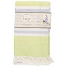 Lulujo Turkish Towels Green & Aqua Blue