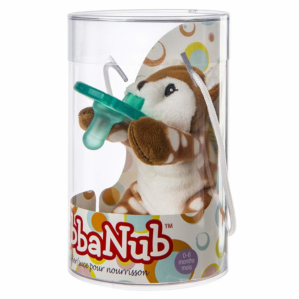 Wubbanub Animal Soother Amber Fawn