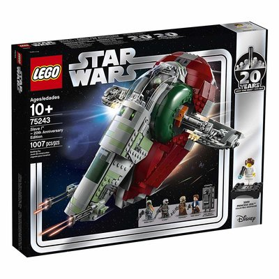 Lego Lego Star Wars Slave 1 20th Anniversary