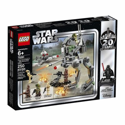 Lego Lego Star Wars Clone Scout Walker 20th Anniversary