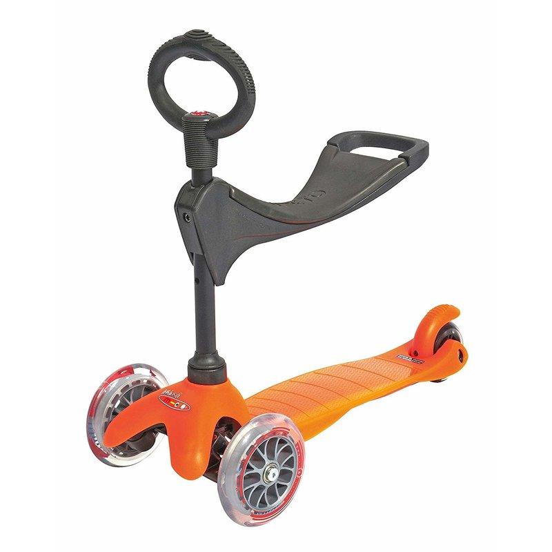 Kickboard Kickboard Scooter Mini Micro 3in1 Orange