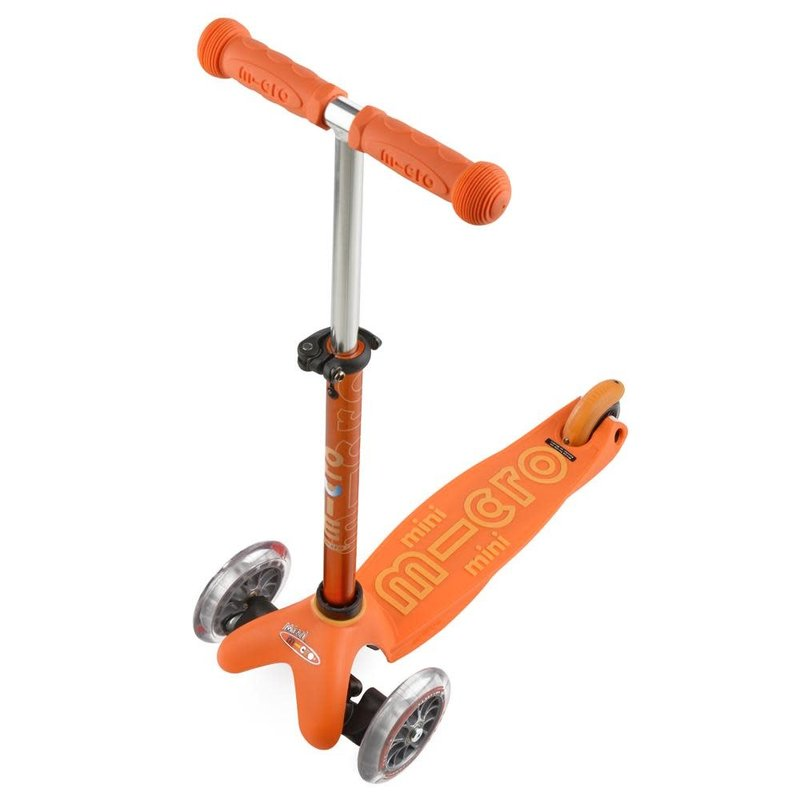 Kickboard Kickboard Scooter Mini Micro 3in1 Deluxe Orange
