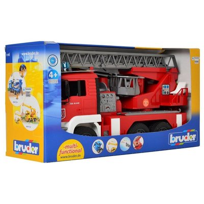 Bruder MAN Firetruck with water pump & lights