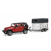 Bruder Jeep & Horse Trailer