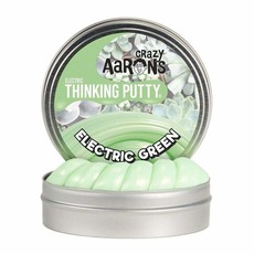 Crazy Aaron 's Thinking Putty Small Tin Electric Green