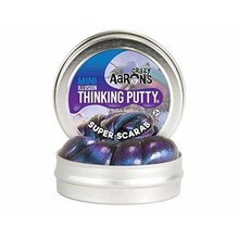 Crazy Aaron Crazy Aaron's Thinking Putty Super Scarab Small Tin