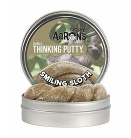 Crazy Aaron Crazy Aaron's Thinking Putty Smiling Sloth Sparkle