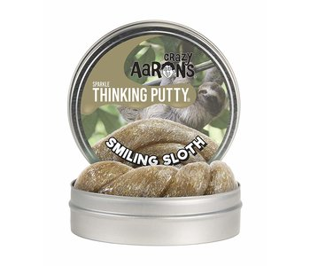 Crazy Aaron's Thinking Putty Smiling Sloth Sparkle