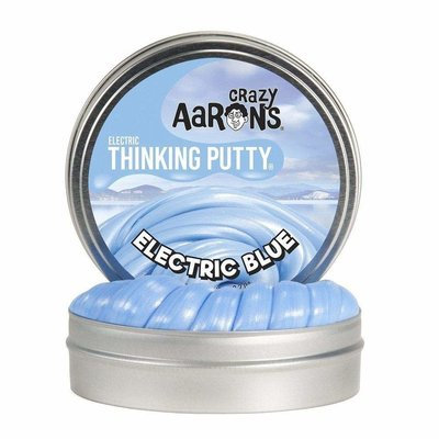 Crazy Aaron Crazy Aaron's Thinking Putty Small Tin Electric Blue