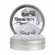 Crazy Aaron Crazy Aaron's Thinking Putty Snow Day with Play Set