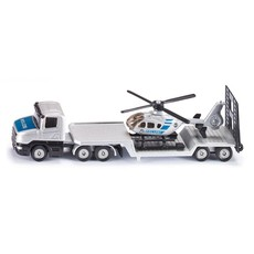 Siku Siku Die Cast Loader with Helicopter