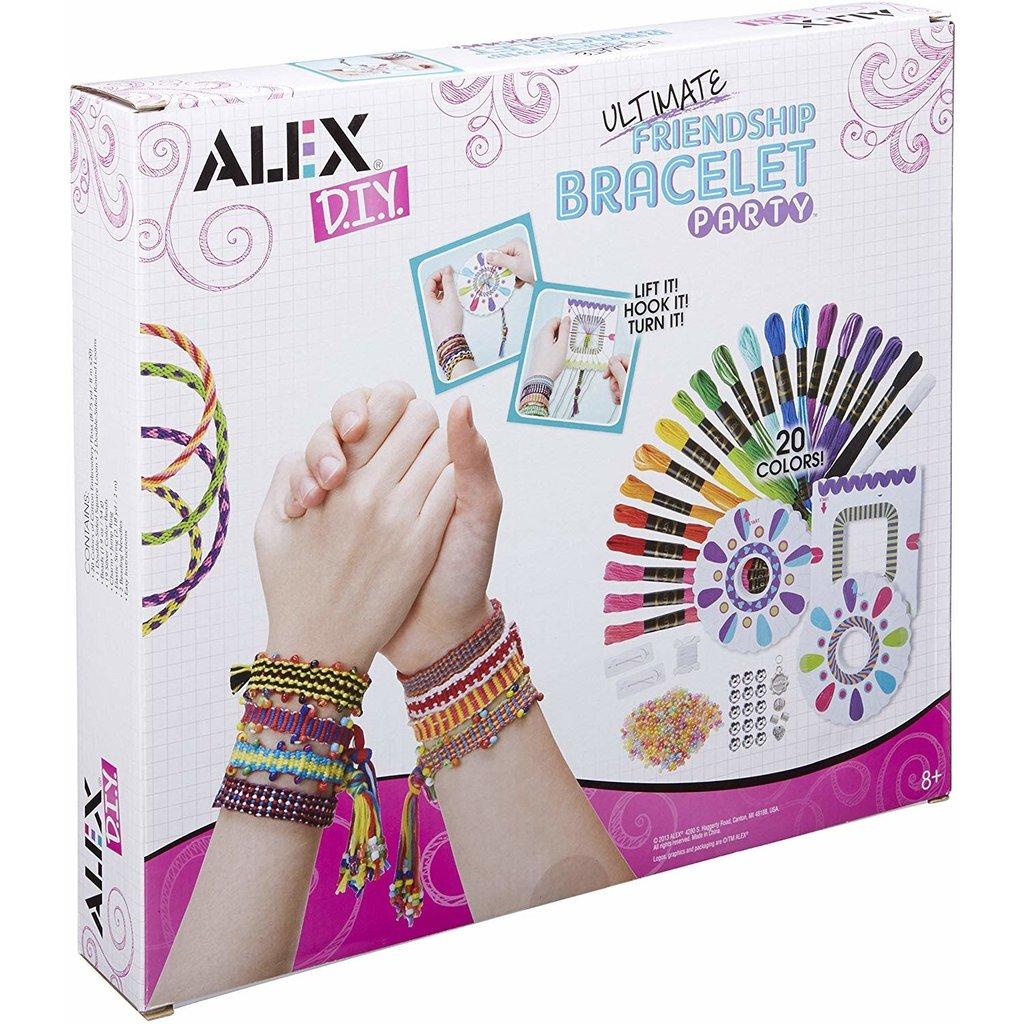 Alex Alex Ultimate Friendship Bracelet Party