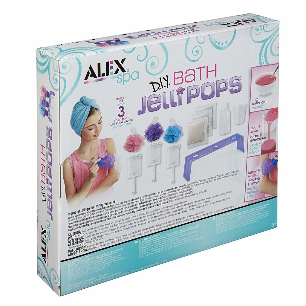 Alex Alex Spa Bath Jelli Pops