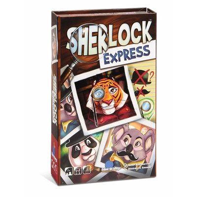 Blue Orange Blue Orange Game Sherlock Express