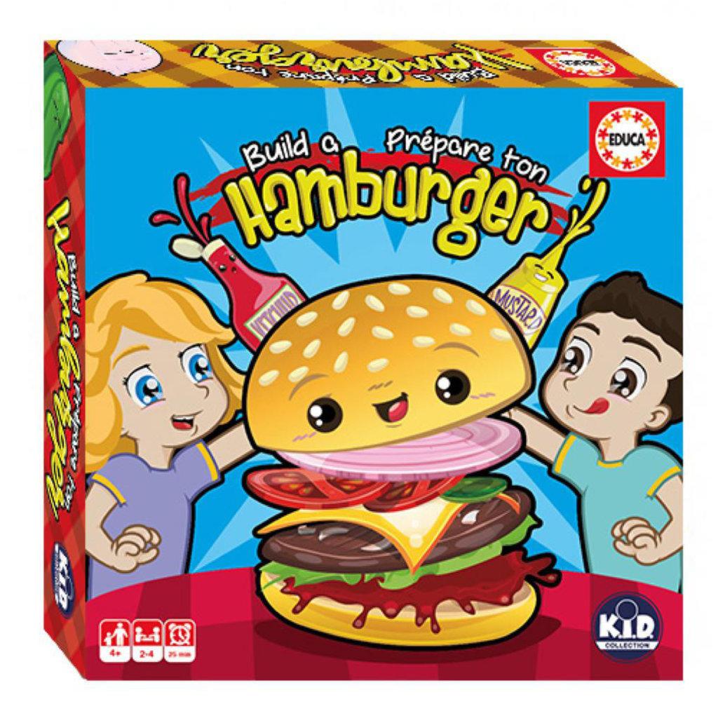 Build a Hamburger Game