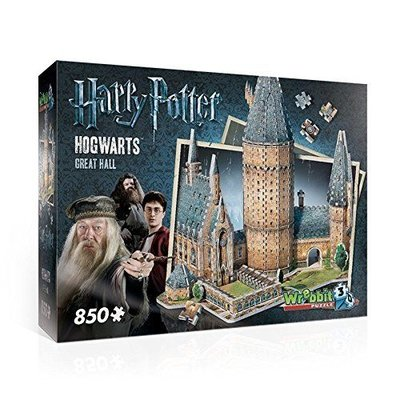 Wrebbit Wrebbit 3D Puzzle Harry Potter The Great Hall