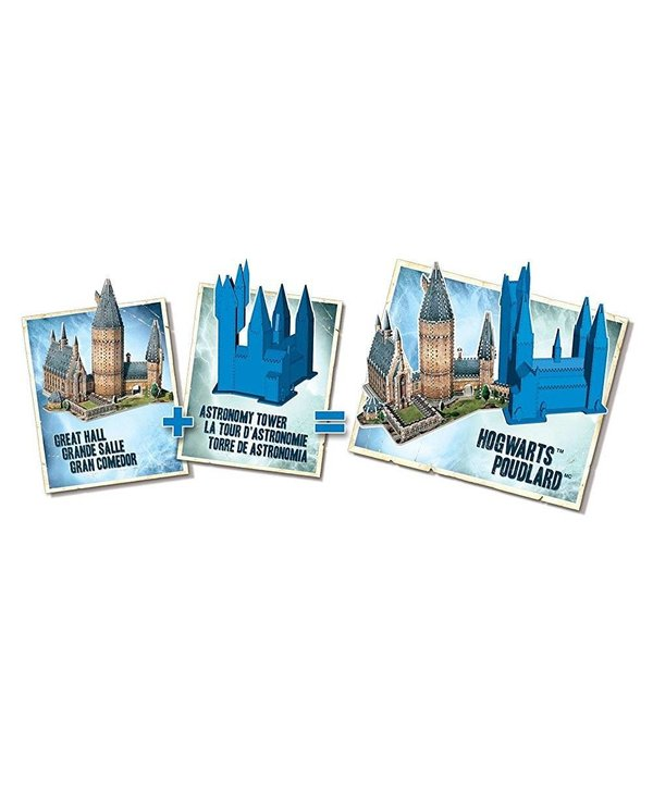 Wrebbit 3D Puzzle Harry Potter The Great Hall