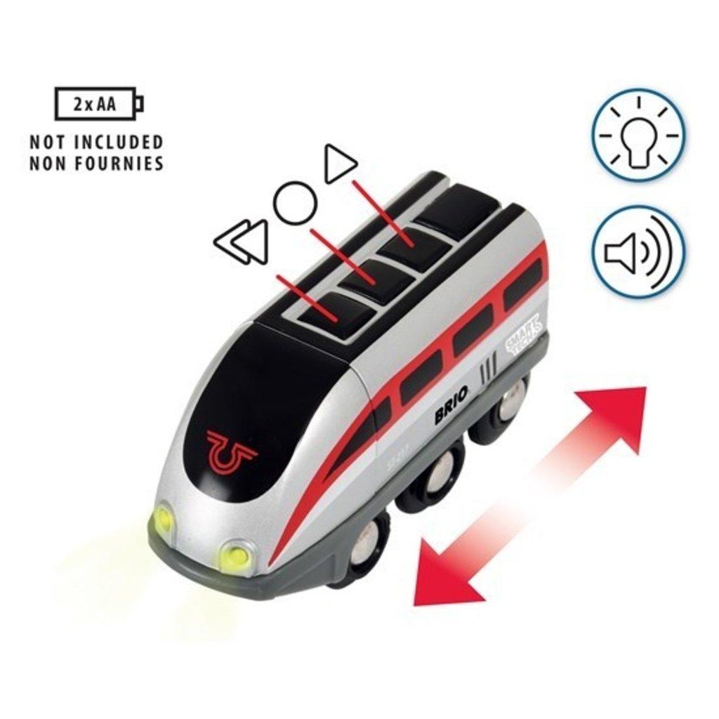 Brio Brio World Train Smart Engine Set with Action Tunnels