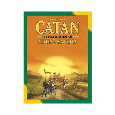 Catan Studios Catan Game 5-6 Player Extension: Cities & Knights