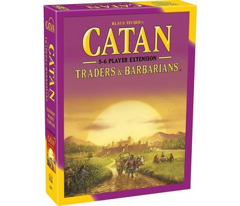 Catan Game 5-6 Player Extension: Traders and Barbarians