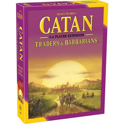 Catan Studios Catan Game 5-6 Player Extension: Traders and Barbarians