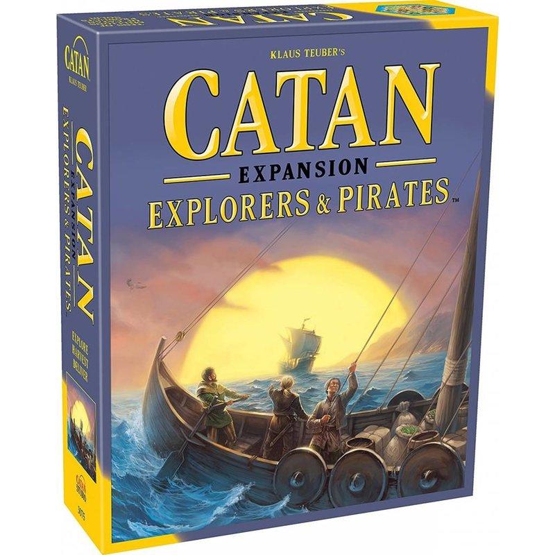 Catan Studios Catan Game Expansion: Pirates & Explorers