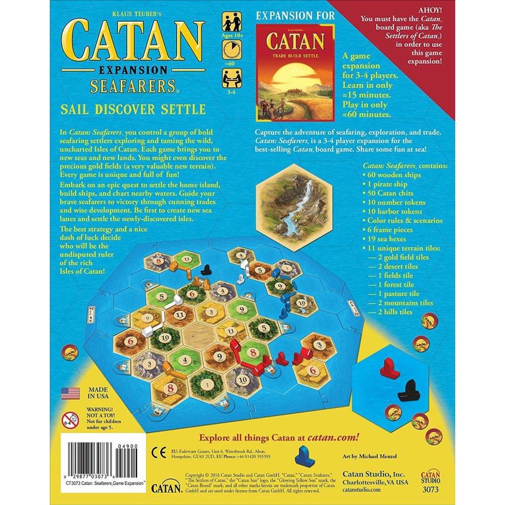 Catan Studios Catan Game Expansion: Seafarers