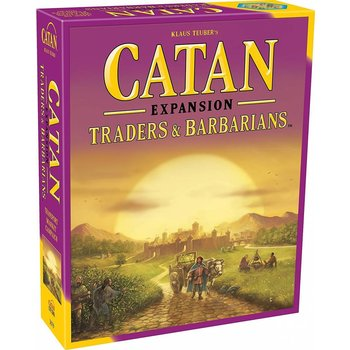 Catan Studios Catan Game Expansion: Traders & Barbarians