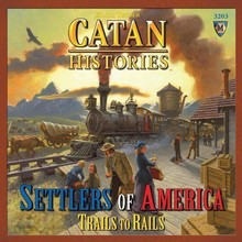 Mayfair Catan Histories: Settlers of America