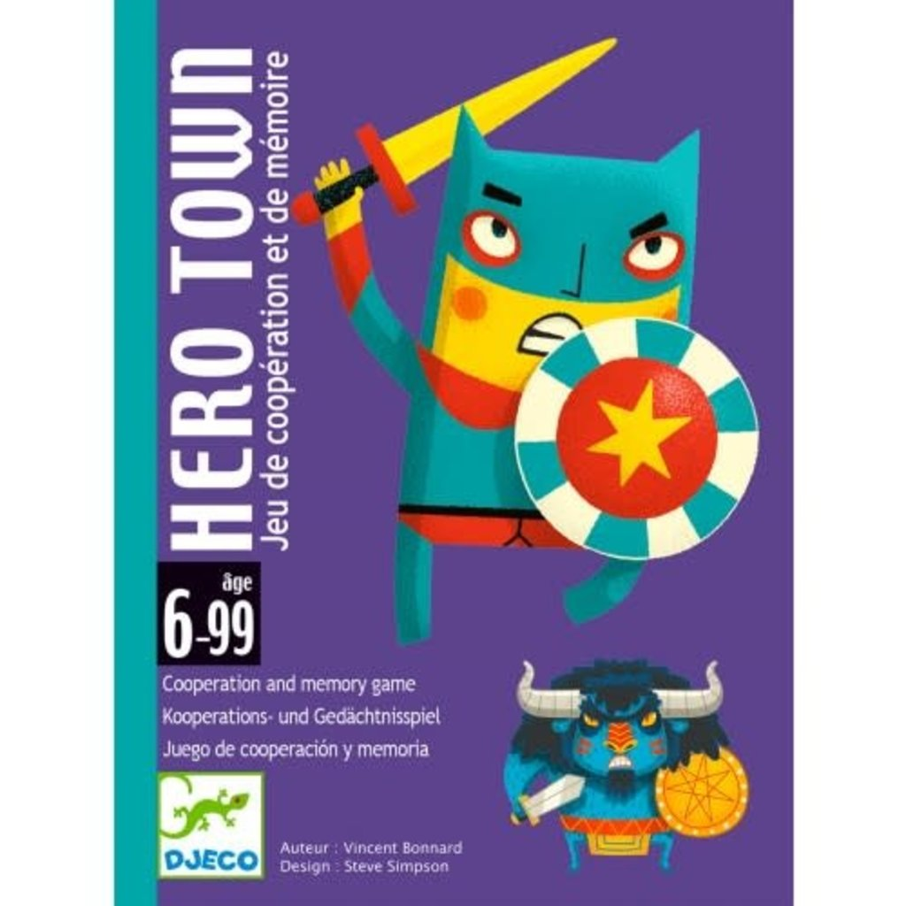 DJeco DJeco Card Game Hero Town