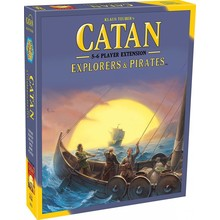 Catan Studios Catan Game 5-6 Player Extension: Pirates & Explorers