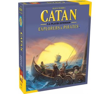 Catan Game 5-6 Player Extension: Pirates & Explorers