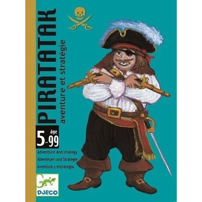 DJeco DJeco Card Game Piratatak