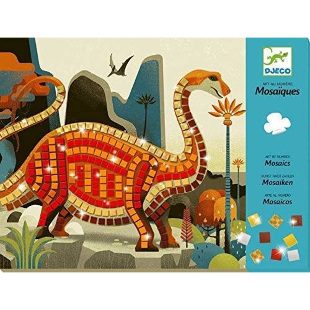 DJeco Djeco Craft Mosaics Dinosaurs