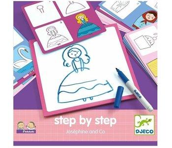Djeco Drawing Step by Step Josephine