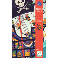Djeco Puzzle 36pc Giant Pirate Ship