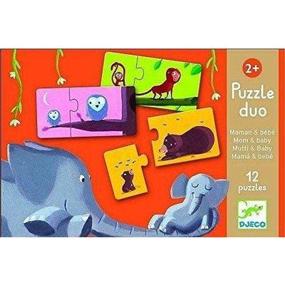 Djeco Puzzle Duo Mom & Baby