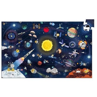 Djeco Puzzle Observation 200pc The Space