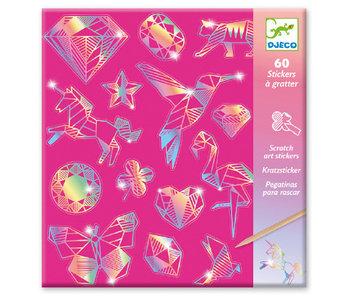 Djeco Scratch Card Diamond