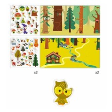 DJeco Djeco Sticker Story The Magical Forest