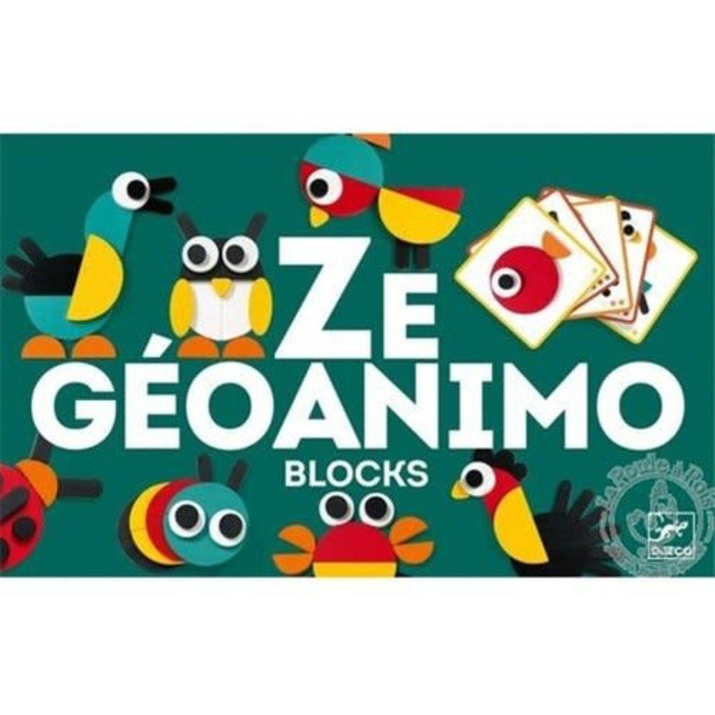 Djeco Ze Geoanimo Mosaic Blocks