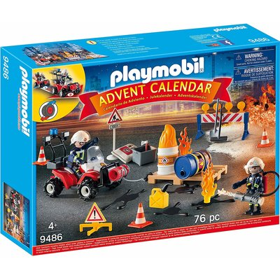 Playmobil Playmobil Advent Calendar 2019 Fire Rescue
