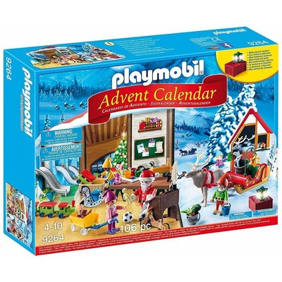 Playmobil Playmobil Advent Calendar Santa's Workshop