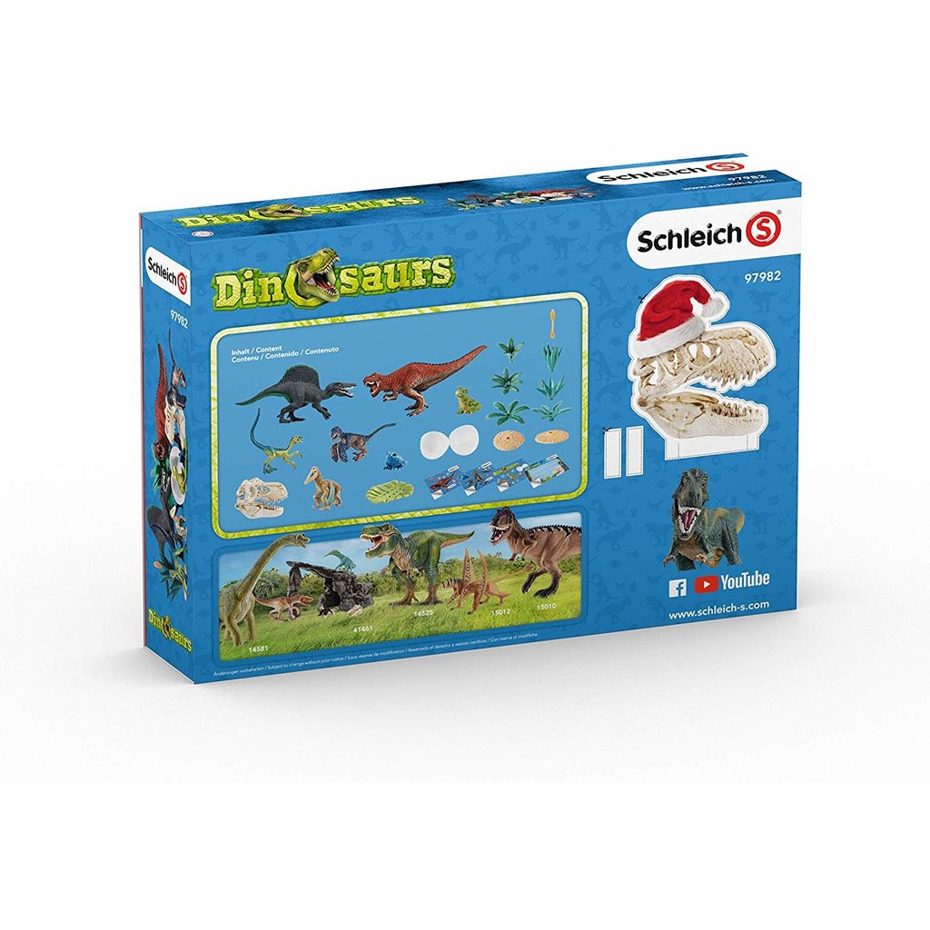 Schleich Advent Calendar 2019 Dino World
