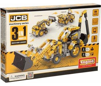 Engino JCB Construction Series Backhoe Loader