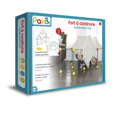 Pako Build & Play Construction Fort