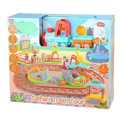 Play Go Safari Train