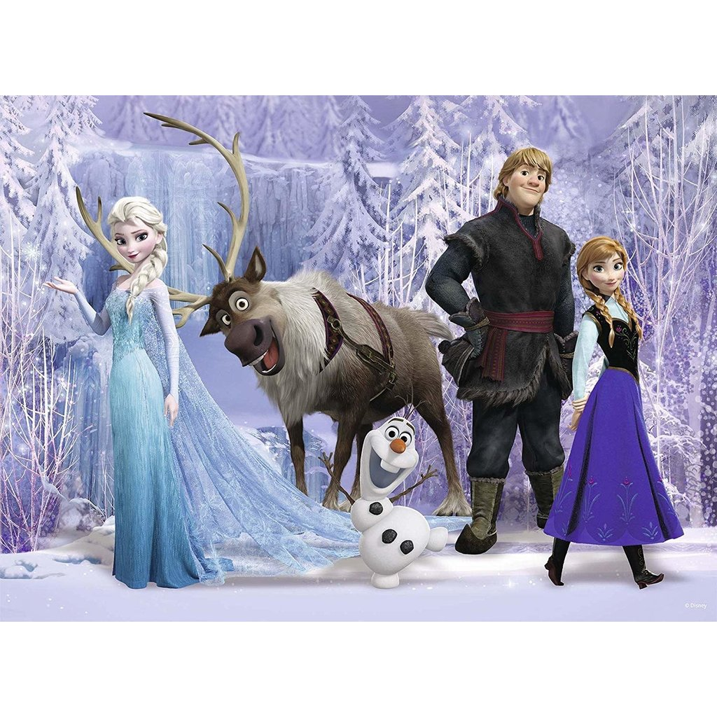 Ravensburger Ravensburger Puzzle 100pc Frozen Magic in the Forest
